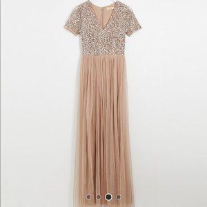 ASOS Maya Bridesmaid Dress (Blush Taupe)